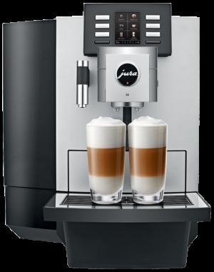 Jura X8 Platina - Coffee@Work: Koffie en koffieautomaten voor bedrijven