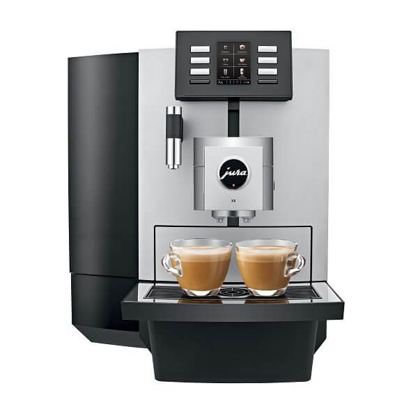 Jura-X8-platina-front-double-espresso-