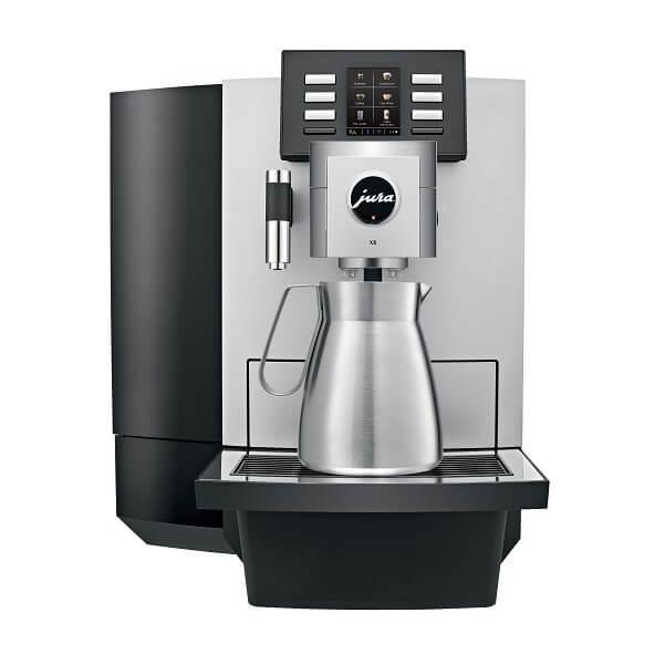 Jura-X8-platina-front-espresso-jar-