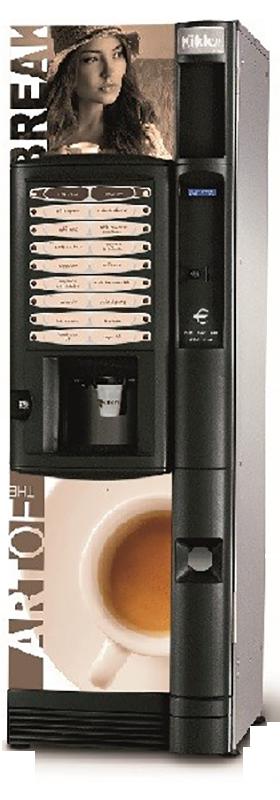 Necta Kikko IN - Coffee@Work: Koffie en koffieautomaten voor bedrijven