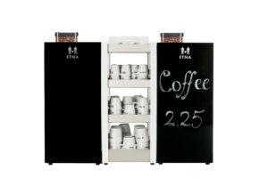 ETNA Gastro achterwand - Coffee@Work: Koffie en koffieautomaten voor bedrijven