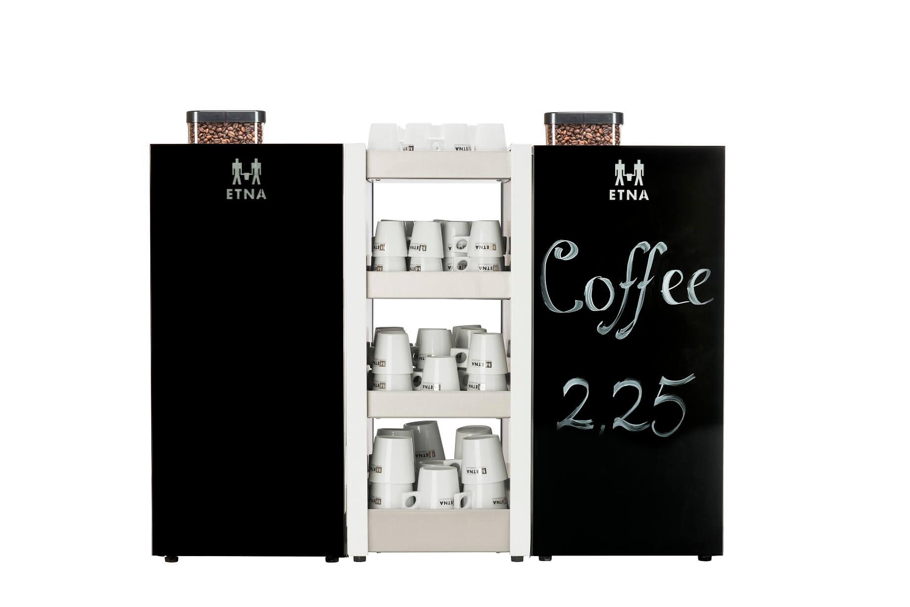 ETNA Dorado espresso Medium Gastro achterwand klein