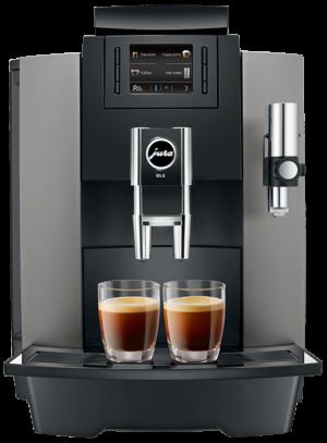 Jura WE8 Dark Inox - Coffee@Work: Koffie en koffieautomaten voor bedrijven