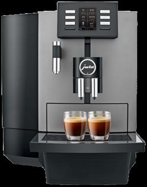 Jura X6 Dark Inox - Coffee@Work: Koffie en koffieautomaten voor bedrijven