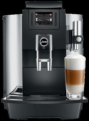 Jura WE8 Chroom - Coffee@Work: Koffie en koffieautomaten voor bedrijven